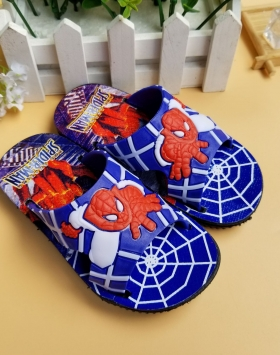Sandal Anak Motif Spiderman Asli Import