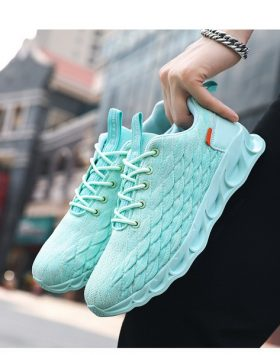 Sneakers Pria Model Korea Warna Toska